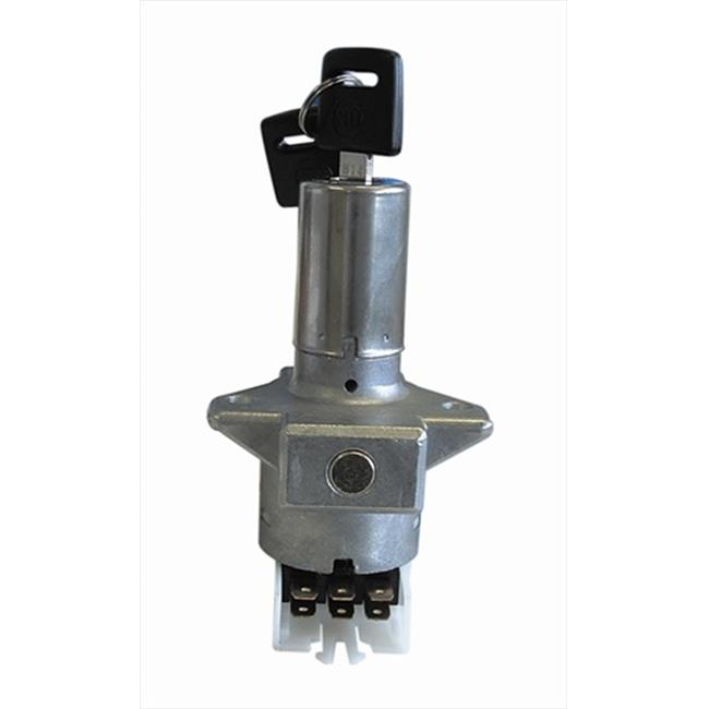 K&L Supply 21-1058 Ignition Switches Flat Key 6-Prong Base