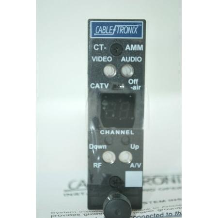 (NEW CABLETRONIX DIGITAL AGILE CT-AMM AUDIO/VIDEO CHANNEL MINI MICRO MODULATOR HEADEND CATV OFF AIR)