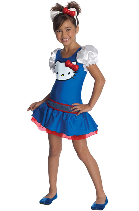 Hello Kitty Blue Classic Tutu Dress Child Costume by Rubies