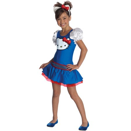 Hello Kitty Blue Classic Tutu Dress Child Costume - Blue Tutu Costumes