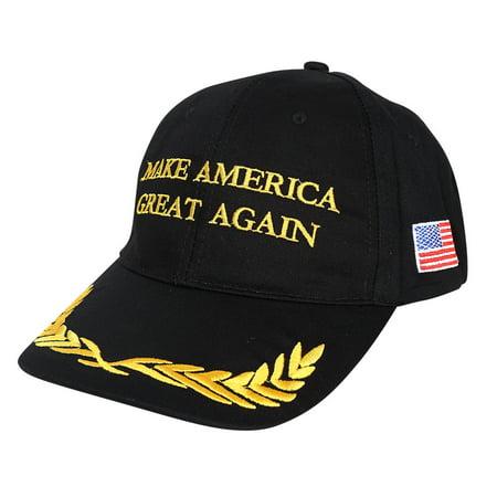 Make America Great Again Hat Donald Trump 2016 Republican Adjustable Baseball Cap Unisex-Adult Black Peace](Great Gatsby Hats For Sale)