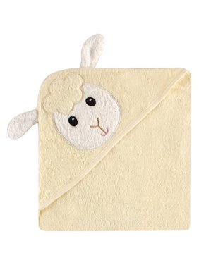 Luvable Friends Cotton Terry Animal Hooded Towel, Duck