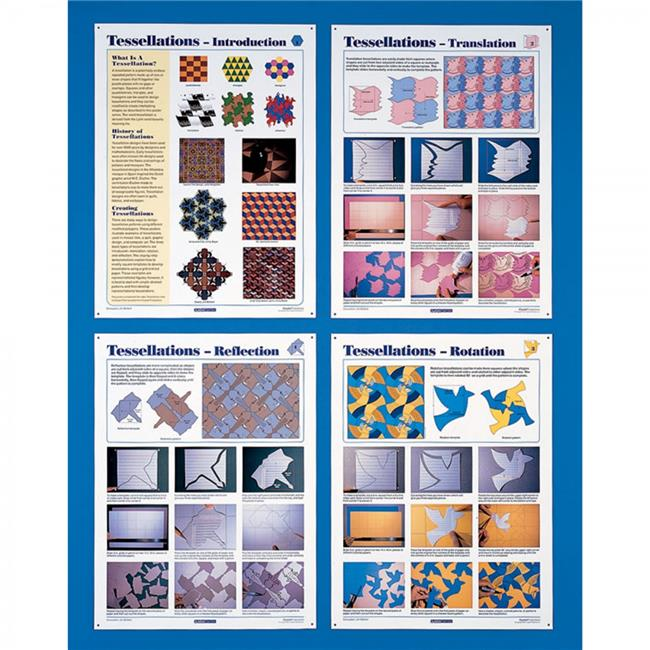 American Educational CP6078 18 x 24 in. Tessellations Poster - image 1 of 1