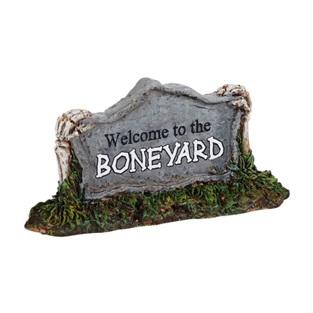 Department 56 Halloween Village Welcome to the Boneyard 2014 (Welcome To Our Halloween Party)