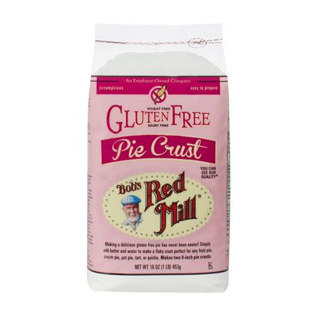 (2 pack) Bobs Red Mill Gluten Free Pie Crust, 16 oz](Red Bob)