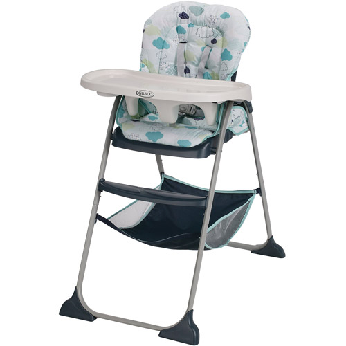 Graco Slim Snacker High Chair, Stratus