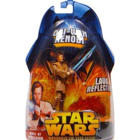 Star Wars: Revenge of the Sith Lava Reflection Obi-Wan Kenobi Action Figure By Hasbro
