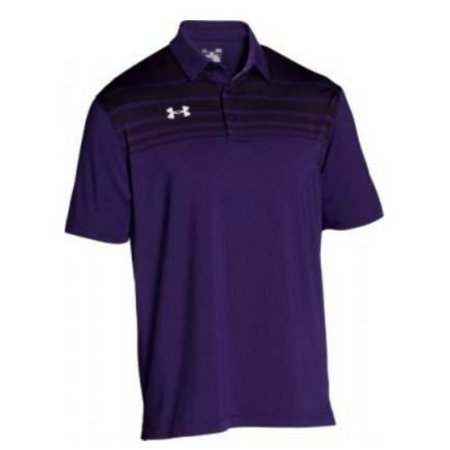 Under armour victor polo shirt men 39 s ua short sleeve golf for Under armour shirts at walmart