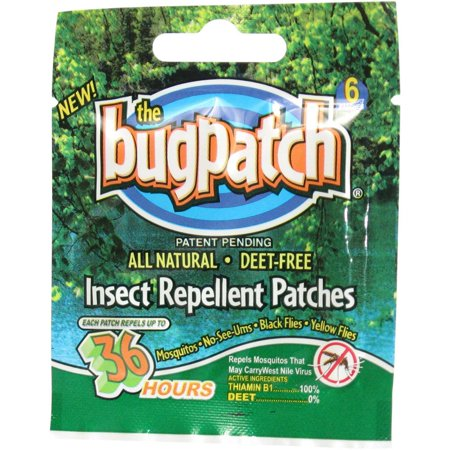 - Original Bug Patch DEET FREE Insect Repellent against Flies and Moquitoes (12 count)