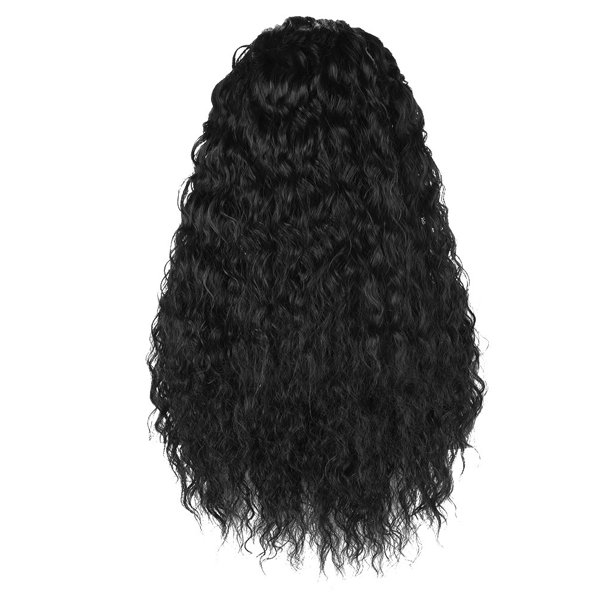 Toyfunny Black Curly Wave Short Wigs Lace Front Wave Synthetic Wig Walmart Com Walmart Com