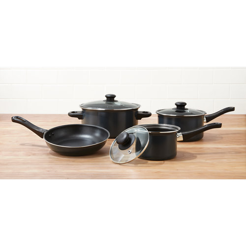 Mainstays Cookware Set, 7 Pieces
