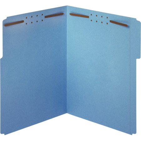 Pendaflex, PFX22040GW, 1/3-cut Top Tab Fastener Folders, 50 / Box, Blue