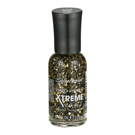 Sally Hansen Nails Xtreme Hard as Nail Wear Couleur 290 Or gras, 0.4 FL OZ