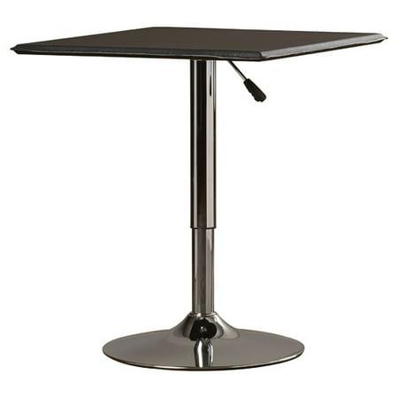 AmeriHome Classic Bistro Table Square Walmartcom - Square pedestal pub table