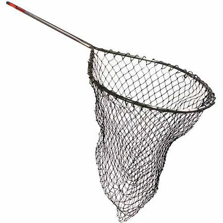 frabill sportsmans teardrop tangle free rubber landing net