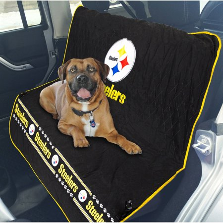 (Pets First NFL Pittsburgh Steelers Car Seat Cover)