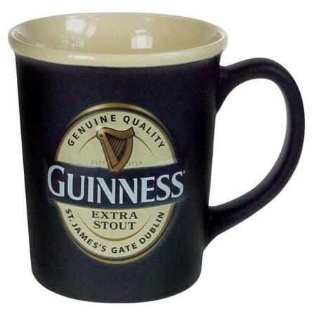 Guinness Large Label Embossed Mug