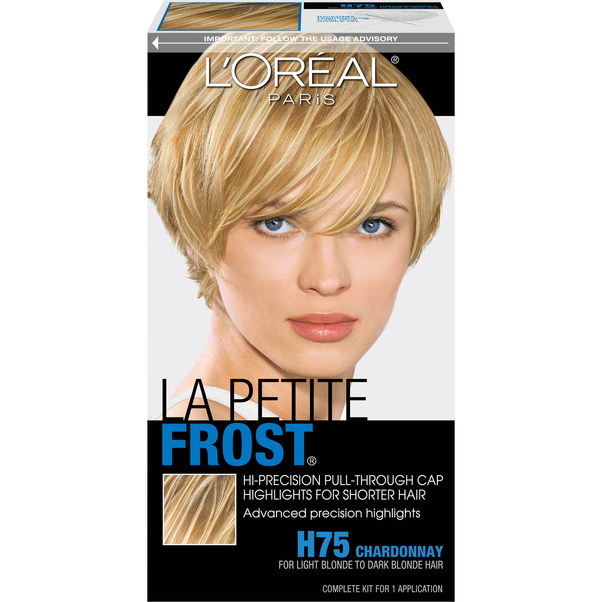 L'Oreal Paris La Petite Frost Highlights Hair Color, H75 Chardonnay