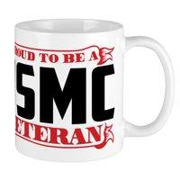 CafePress - Proud To Be A USMC Veteran Mug - Unique Coffee Mug, Coffee Cup CafePress