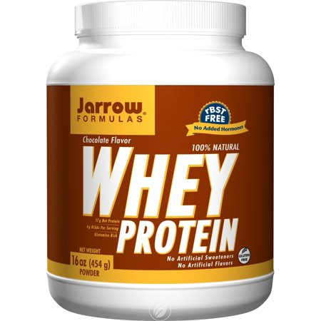 Jarrow Formulas Whey Protein Chocolate, Supports Muscle Development, 16