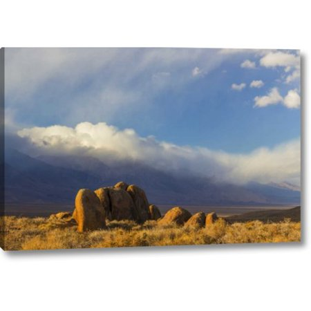 Millwood Pines 'Ca, Alabama Hills Mountain and Desert Landscape' Photographic Print on Wrapped (Desert Hills Ca)