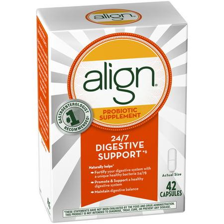 Align Daily Probiotic Supplement, Probiotics Supplement, 42 Capsules - Walmart.com