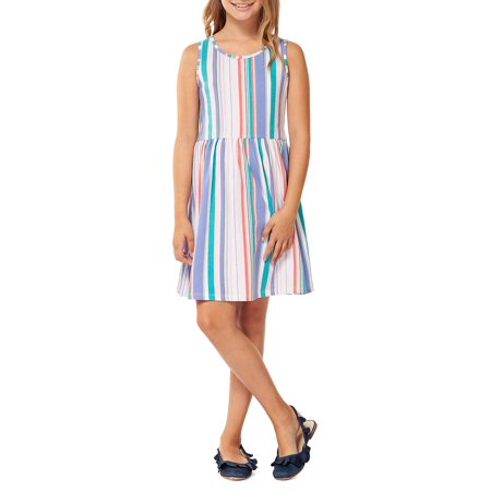 Girl's Printed A-Line Dress