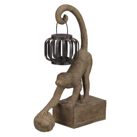 Bombay Outdoors Gibraltar Monkey Lantern