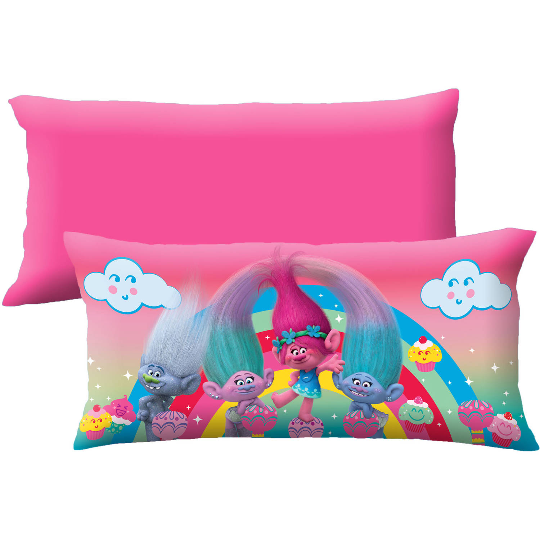"""Dreamwork's Trolls """"Cupcake Garden"""" Body Pillow - Walmart.com"""