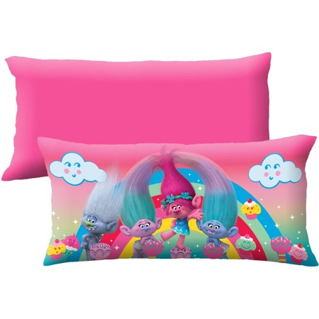 Dreamworks Trolls  Cupcake Garden  Body Pillow