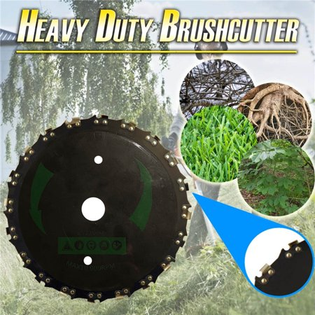 Image of Lawn Mower Grass Food Trimmer Head Brush Cutter 9 Inches