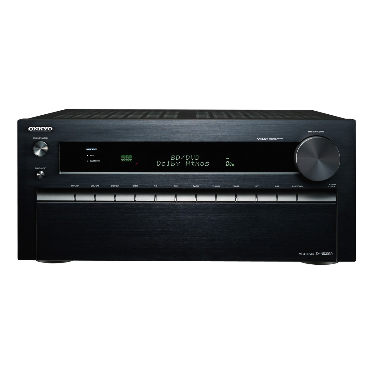 Onkyo TX-NR3030 | 11.2 Channel Dolby Atmos Network A V Receiver by Onkyo