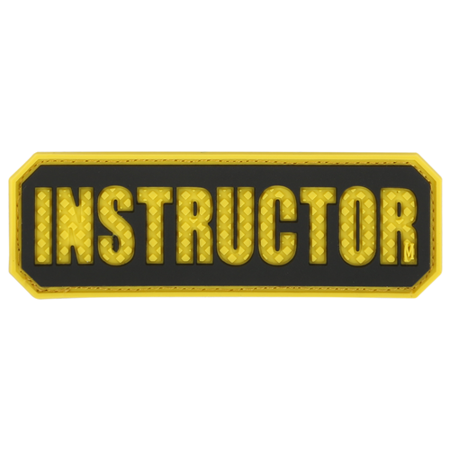 Maxpedition Instructor 3d PVC Rubber Badge Cadet Emblem Morale Patch Full Colour