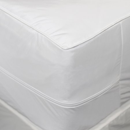AllerEase 2-in-1 Mattress Pad with Removable Hot Water Washa