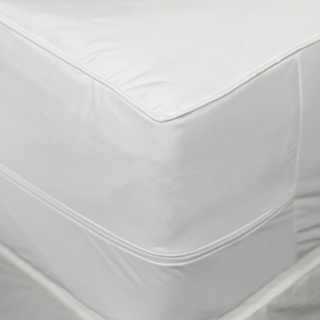 AllerEase 2-in-1 Mattress Pad with Removable Hot Water Washable Top Pad, Twin-XL