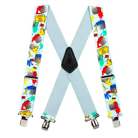 Suspender Store Painter Clip-End Novelty Tradesman Suspenders (3 Sizes) - Novelty Suspenders