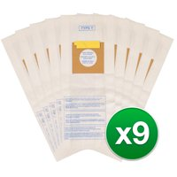 9 Hoover Windtunnel Upright Type Y Vacuum Bags By Envirocare (Micro-filtration)