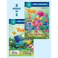 Color Day Party!/The Sound of Spring (DreamWorks Trolls) (Paperback)