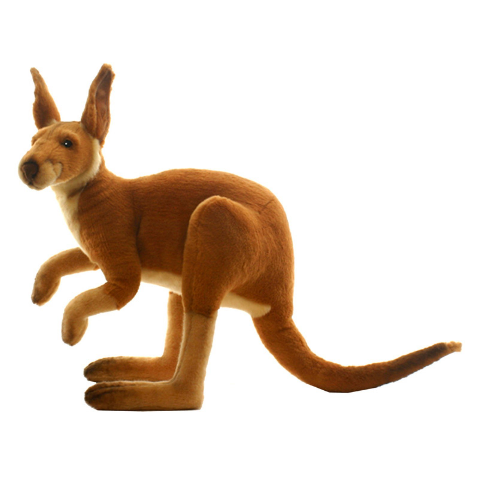 "Hansa Plush Male Kangaroo, 26"""