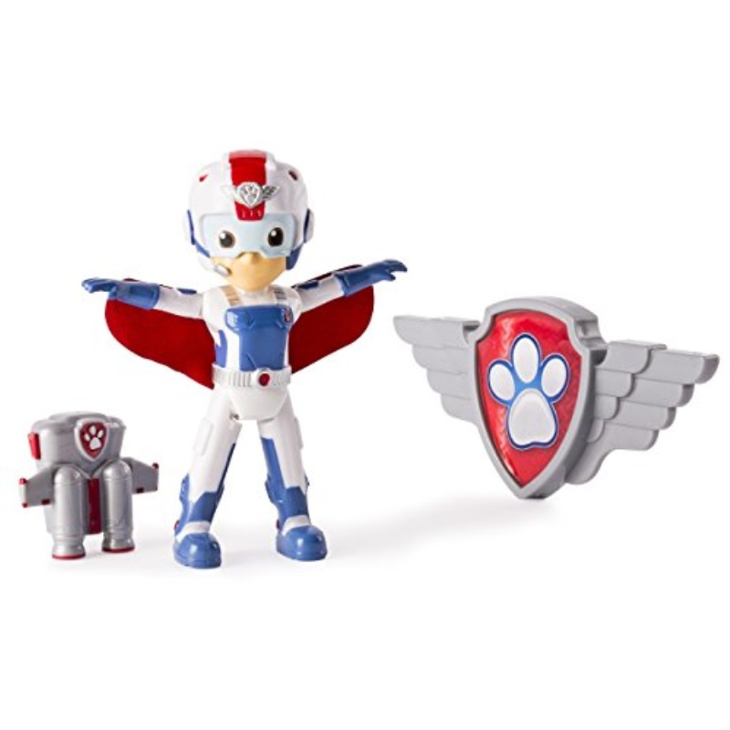 Spin Master Paw Patrol Action Pack & Badge Air Rescue Ryder Figure