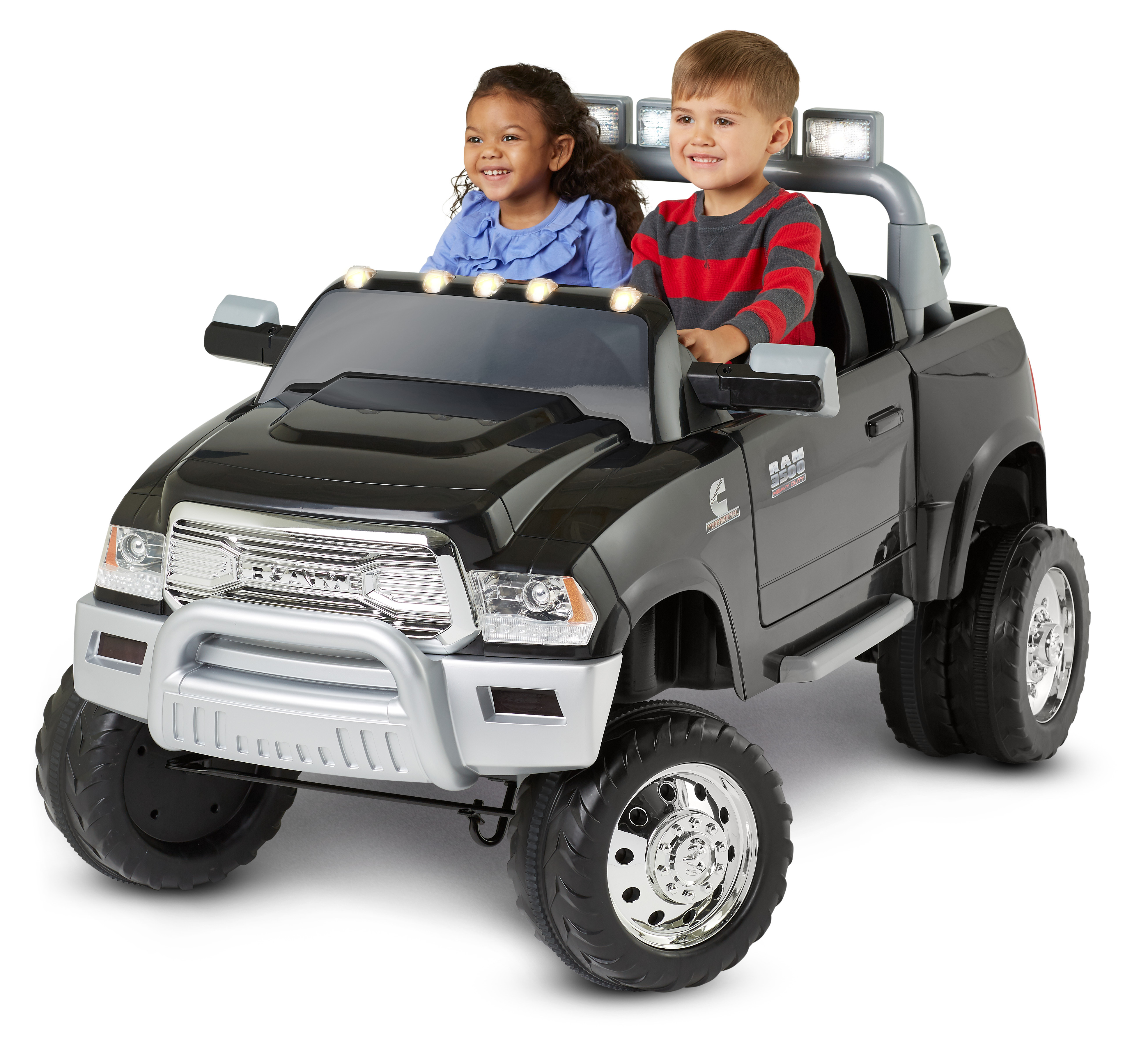 Kid Trax Ram 3500 Dually 12V Battery Powered Ride-On, Black by Pacific Cycle