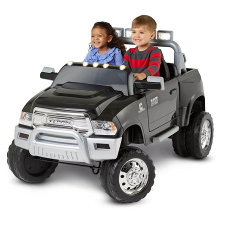 Ram 3500 Dually Ride-On Toy by Kid Trax, black