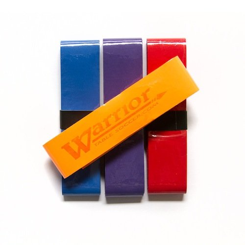 Warrior Table Soccer Durable and Absorbent Lightweight Grips - 4 PACK