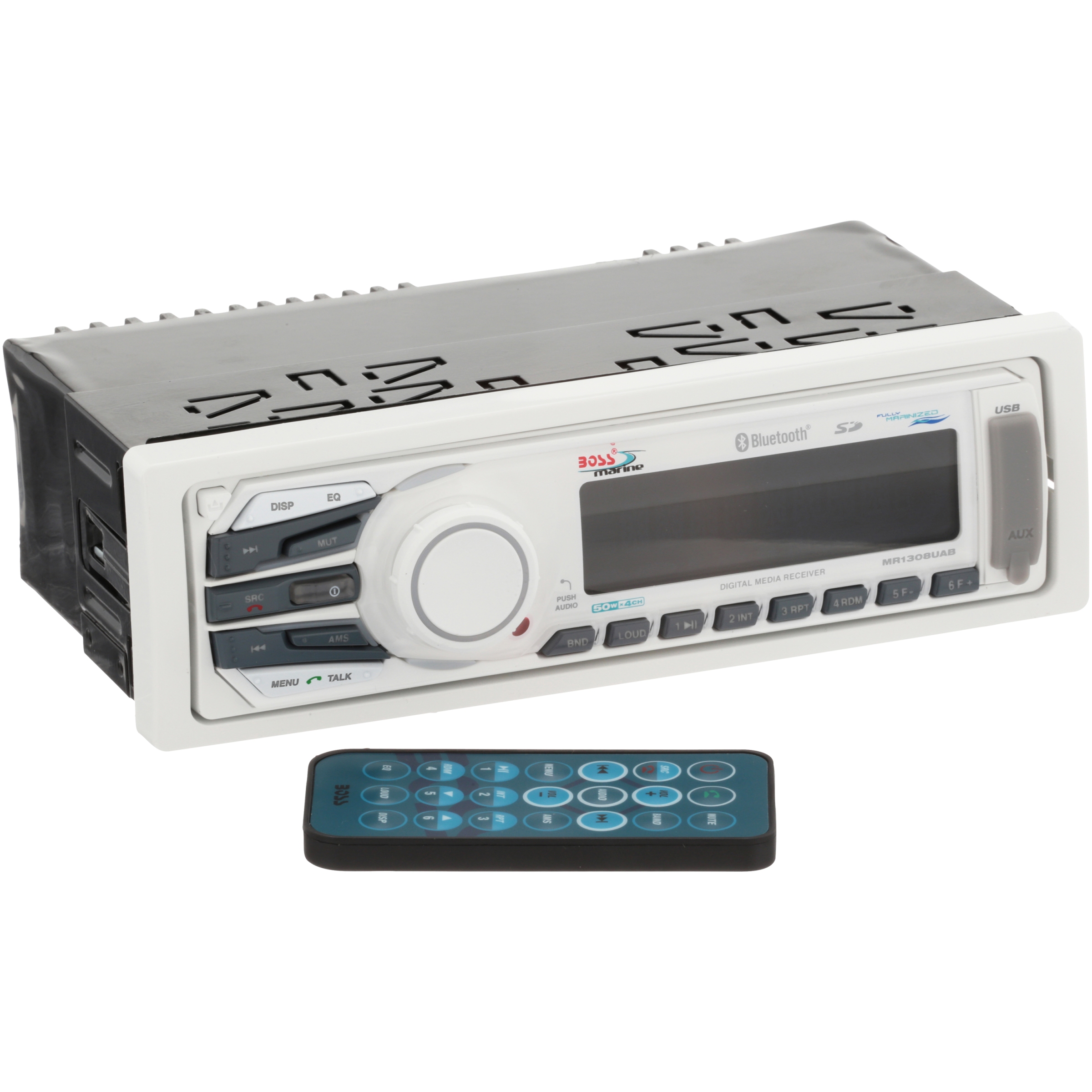 Boss Audio MR1308UAB Stereo Recevier, AM FM MP3, Bluetooth by Boss Audio