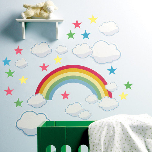 Wallies Rainbow Room Wall Decal