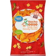 Great Value Nacho Cheese Tortilla Chips 19 oz. Bag