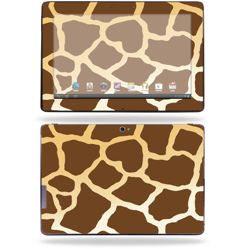 """Mightyskins Protective Skin Decal Cover for Asus Transformer Infinity TF700 Tablet with 10.1"""" screen wrap sticker skins Giraffe"""