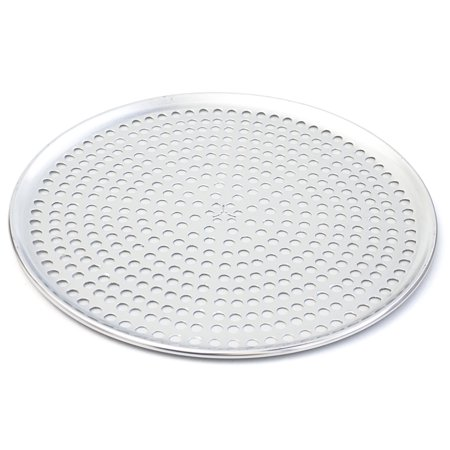 Browne Basics Aluminum Perforated Pizza Tray, 12 Inch (12 Pizza Tray)
