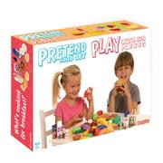 Deluxe Pretend Play Food Set, 120 Piece Set
