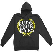 Close Your Eyes Men's  Not My Home Hooded Sweatshirt Black